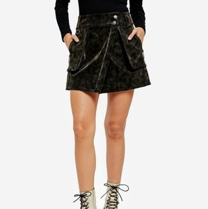 🌟HOST PICK🌟 FREE PEOPLE UTILITY SKIRT BLACK